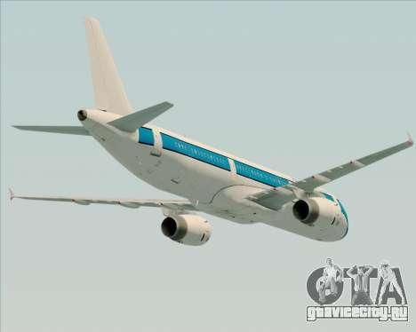 Airbus A321-200 American Pacific Airways для GTA San Andreas колёса
