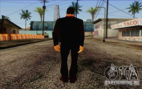 Yakuza from GTA Vice City Skin 1 для GTA San Andreas второй скриншот