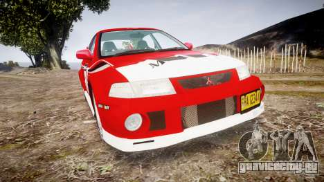 Mitsubishi Lancer Evolution VI Rally Marlboro для GTA 4