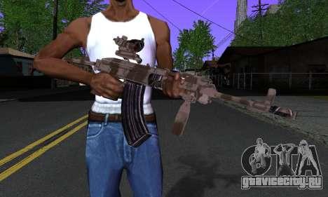 Sa-58V ACOG для GTA San Andreas третий скриншот