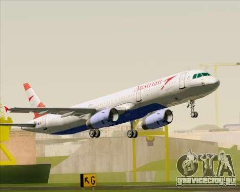 Airbus A321-200 Austrian Airlines для GTA San Andreas