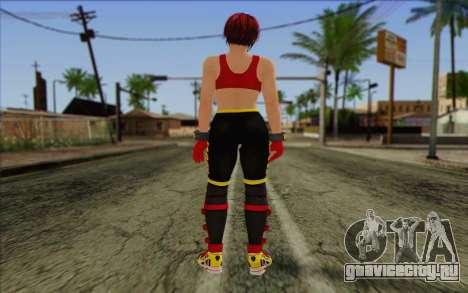 Mila 2Wave from Dead or Alive v7 для GTA San Andreas второй скриншот