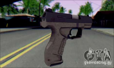 Walther P99 Bump Mapping v1 для GTA San Andreas второй скриншот