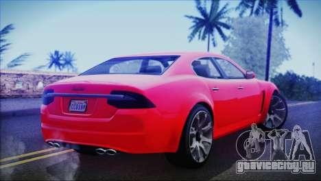 Lampadati Felon для GTA San Andreas вид слева