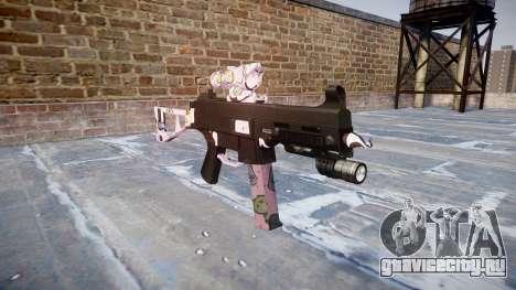 Пистолет-пулемёт UMP45 Kawaii для GTA 4