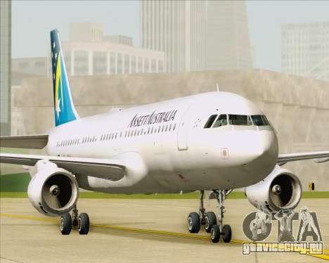 Airbus A320-200 Ansett Australia для GTA San Andreas вид изнутри