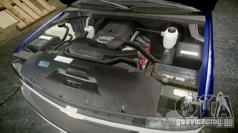 Chevrolet Suburban Undercover 2003 Grey Rims для GTA 4 вид изнутри
