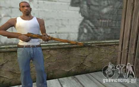 Винтовка Мосина v9 для GTA San Andreas третий скриншот