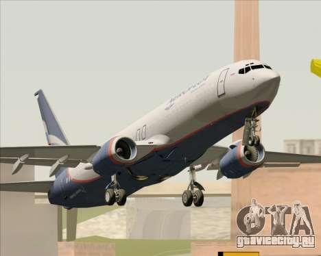 Boeing 737-8LJ Aeroflot - Russian Airlines для GTA San Andreas вид справа