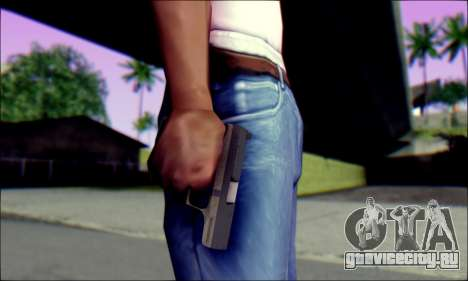 Walther P99 Bump Mapping v1 для GTA San Andreas третий скриншот