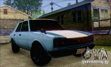 Vulcar Warrener V2 для GTA San Andreas