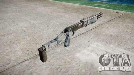 Ружьё Franchi SPAS-12 Skulls для GTA 4 второй скриншот