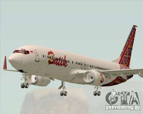 Boeing 737-800 Batik Air для GTA San Andreas