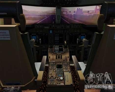 Boeing 747-400ER Qantas (Wunala Dreaming) для GTA San Andreas салон