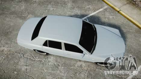 Bentley Arnage T 2005 Rims1 Chrome для GTA 4 вид справа