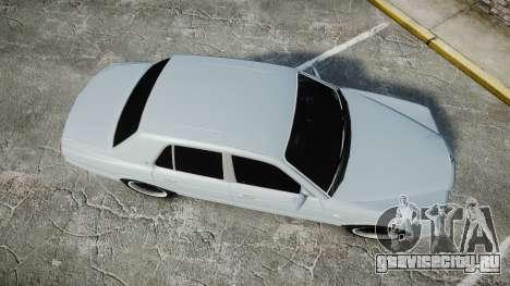 Bentley Arnage T 2005 Rims1 Chrome для GTA 4 вид справа