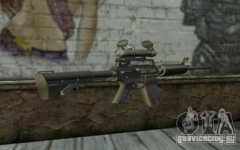 M4 from Hitman 2 для GTA San Andreas второй скриншот