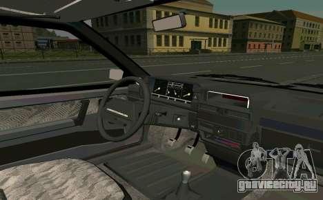 ВАЗ 2108 Turbo-TAZ для GTA San Andreas вид справа