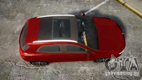 Mercedes-Benz GLA 220 для GTA 4 вид справа