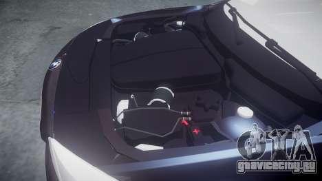 BMW 530d F11 Unmarked Police [ELS] для GTA 4 вид сбоку