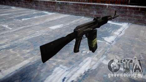 Автомат Калашникова 101 для GTA 4 второй скриншот