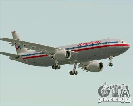 Airbus A300-600 American Airlines для GTA San Andreas салон