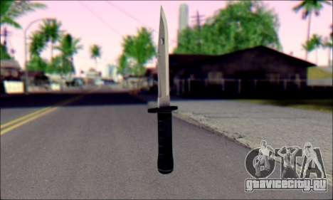Knife from Death to Spies 3 для GTA San Andreas второй скриншот