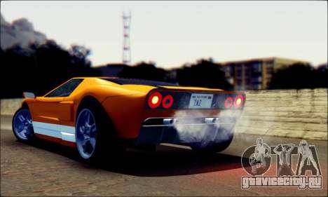 Vapid Bullet GTA 5 для GTA San Andreas вид слева