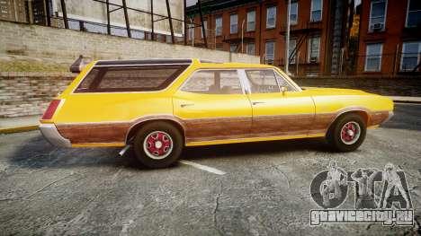 Oldsmobile Vista Cruiser 1972 Rims2 Tree3 для GTA 4 вид слева