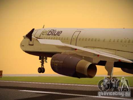 Airbus A321-232 jetBlue Batty Blue для GTA San Andreas
