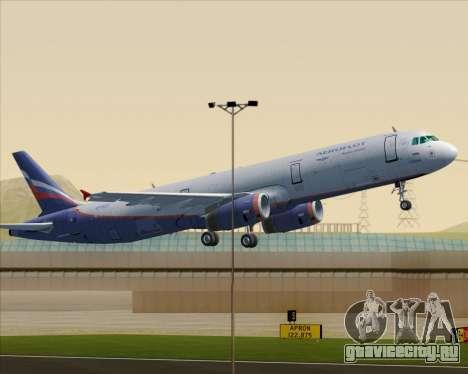 Airbus A321-200 Aeroflot - Russian Airlines для GTA San Andreas