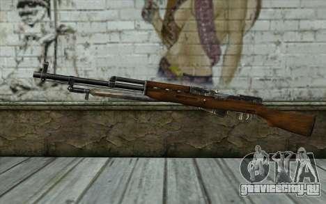 СКС (Battlefield: Vietnam) для GTA San Andreas
