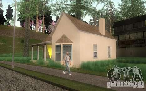 Новый дом CJ в Angel Pine для GTA San Andreas четвёртый скриншот