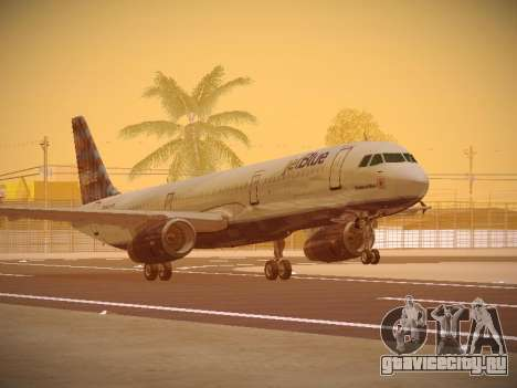 Airbus A321-232 jetBlue Airways для GTA San Andreas