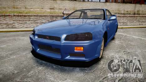 Nissan Skyline R-34 V-spec для GTA 4