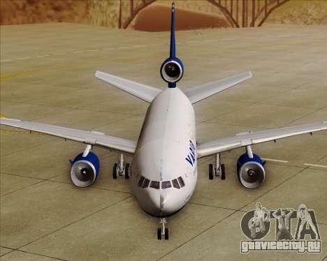 McDonnell Douglas DC-10-30 VARIG для GTA San Andreas вид снизу