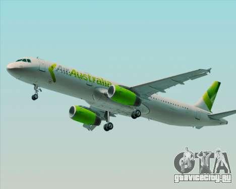 Airbus A321-200 Air Australia для GTA San Andreas колёса