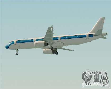 Airbus A321-200 American Pacific Airways для GTA San Andreas двигатель