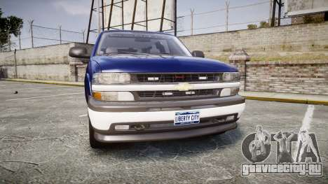 Chevrolet Suburban Undercover 2003 Grey Rims для GTA 4