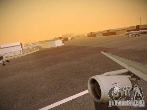 Airbus A320-214 Aeroflot Retrojet для GTA San Andreas колёса