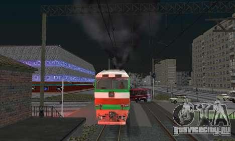 ТЭП 70 БЧ для GTA San Andreas вид справа