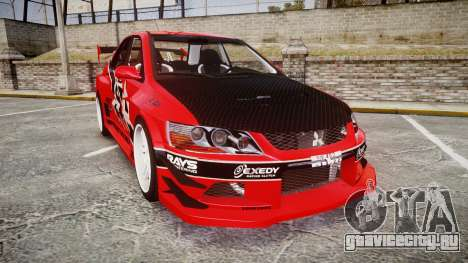 Mitsubishi Lancer Evolution IX Fast and Furious для GTA 4