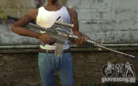 M4 from Hitman 2 для GTA San Andreas третий скриншот
