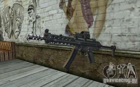 Silver MP5 для GTA San Andreas