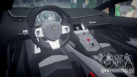Lamborghini Aventador LP760-4 Camo Edition для GTA 4 вид сзади