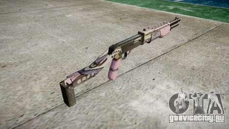 Ружьё Franchi SPAS-12 Kawaii для GTA 4 второй скриншот