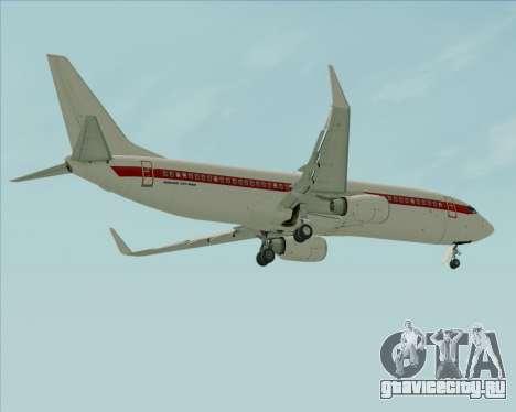 Boeing 737-800 EG&G - Janet для GTA San Andreas колёса