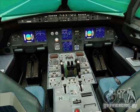 Airbus A321-200 Aer Lingus для GTA San Andreas салон