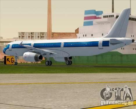 Airbus A321-200 American Pacific Airways для GTA San Andreas вид справа
