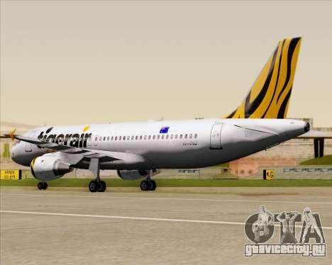 Airbus A320-200 Tigerair Australia для GTA San Andreas вид сбоку